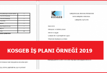 Photo of KOSGEB Proje Örnekleri 2020 GÜNCEL – KESİN ONAYIN SIRLARI