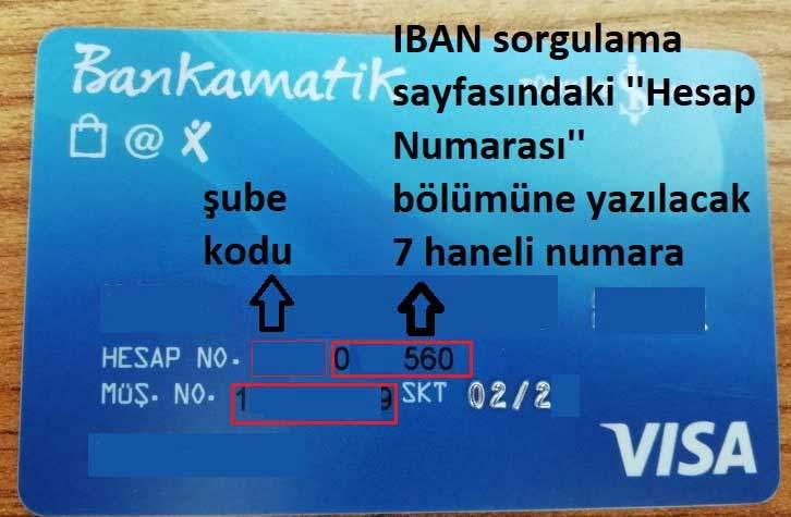 isbank musteri numarasi ogrenme bankkart
